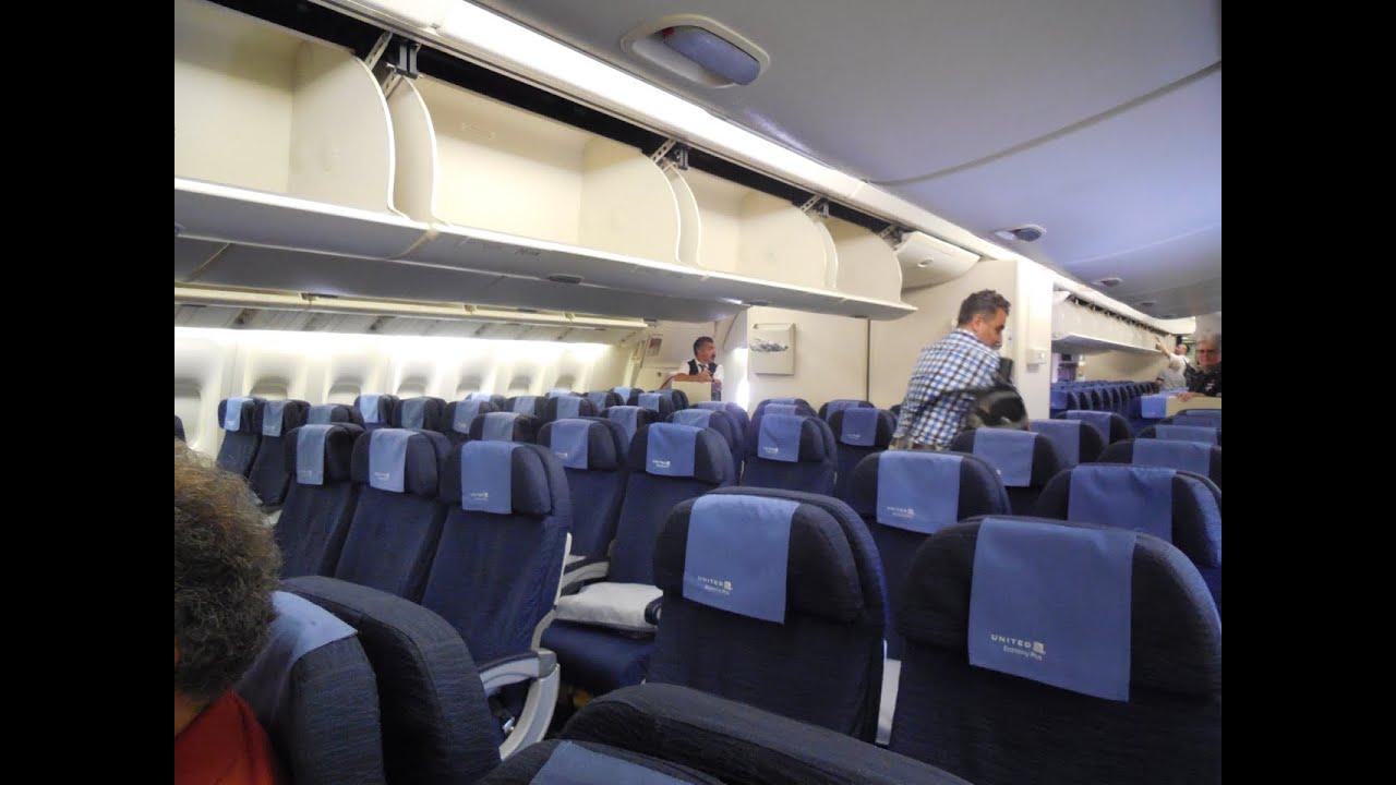 Flying united airlines economy b777 200 chicago munich youtube publicscrutiny Choice Image