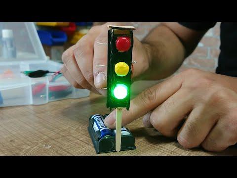 Ev yapımı trafik lambası