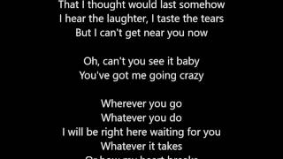 Richard Marx - Right Here Waiting - Lyrics Scrolling