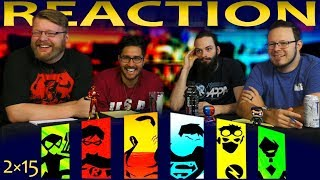 """Young Justice 2x15 REACTION!! """"War"""""""