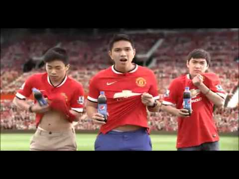 Quảng Cáo Pepsi Mới Nhất Năm 2014 – Manchester United