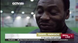 Former Super Eagles striker Daniel Amokachi now a coach in Finland's 2nd division team