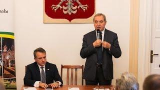 Minister Henryk Kowalczyk w Ostrowi Mazowieckiej