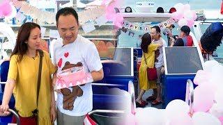 Choáng với món quà 'khó đỡ' mà Thu Trang tặng ông xã Tiến Luật ngày sinh nhật