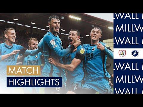 Barnsley Millwall Goals And Highlights