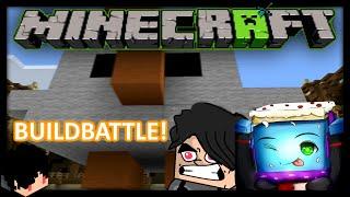 Minecraft Indonesia | BuildBattle - Tema yang Membingungkan!? w/ BeaconCream