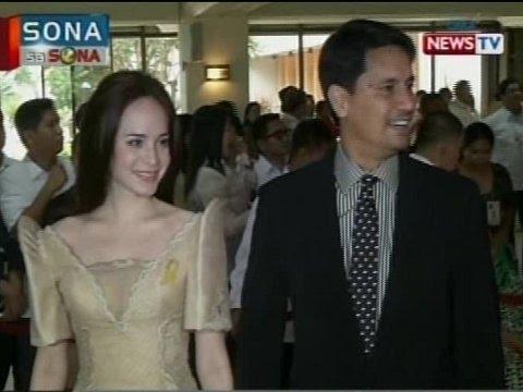SONA: Iba't ibang klase ng filipiniana, rumampa sa red carpet