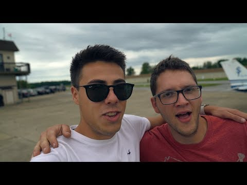 Huge Announcement! + 18 Year Old Pilot Takes His Uncle On First Flight *HE WAS SCARED*