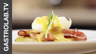 Poached Egg With White Asparagus And Hollandaise || Gastrolab Quick & Easy Recipe