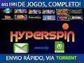 HYPERSPIN 64 SISTEMAS 441GB GRÁTIS 2018