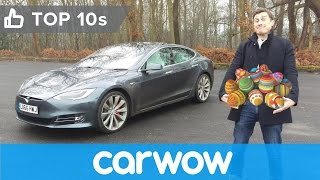 Tesla Model S Easter Eggs revealed | Top 10s