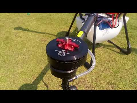 X4-10 Agricultural drone with DJI E5000 Tuned Propulsion system