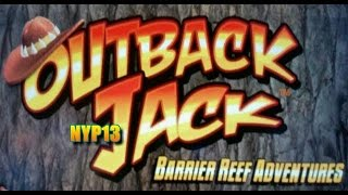 Aristocrat - Outback Jack 2 Slot Bonus & BIG Line Hit WIN