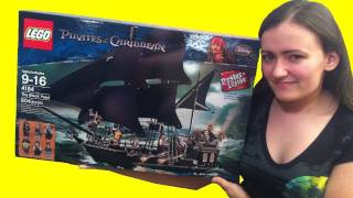 LEGO 4184 POTC Pirates of the Caribbean The Black Pearl Review