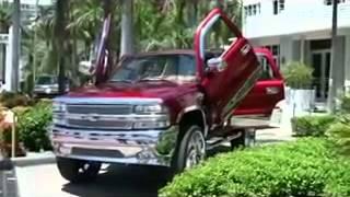 Приколы видео АВТО  АВТОМОБИЛЬНАЯ КРАСОТА Красивые тачки в Майами Бич! Супер колеса
