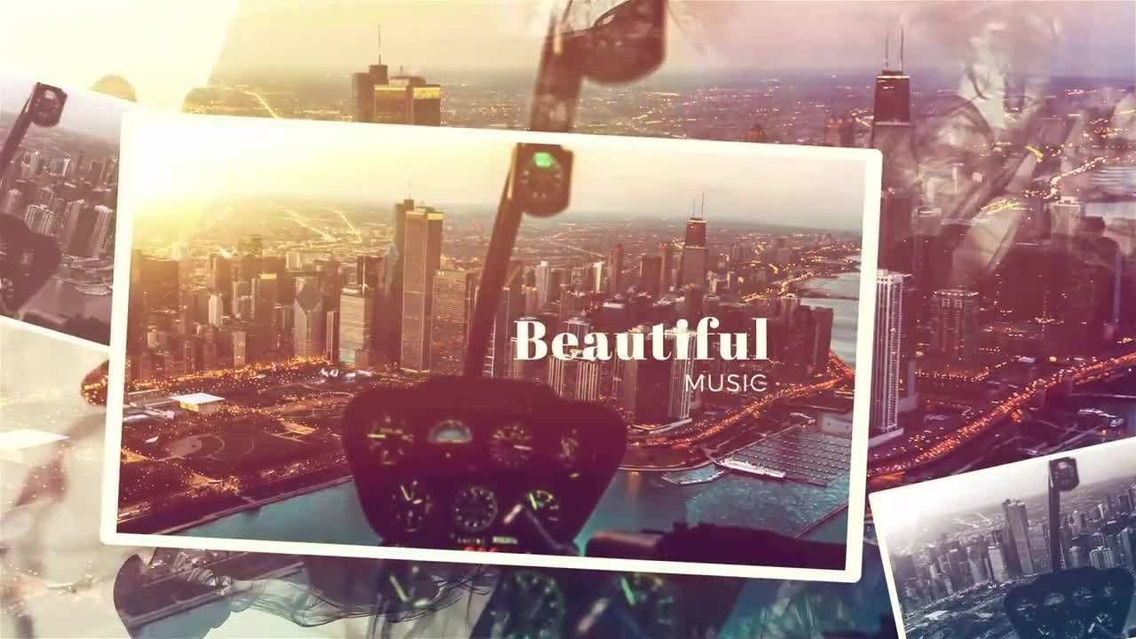 Beautiful Slideshow After Effects Templates