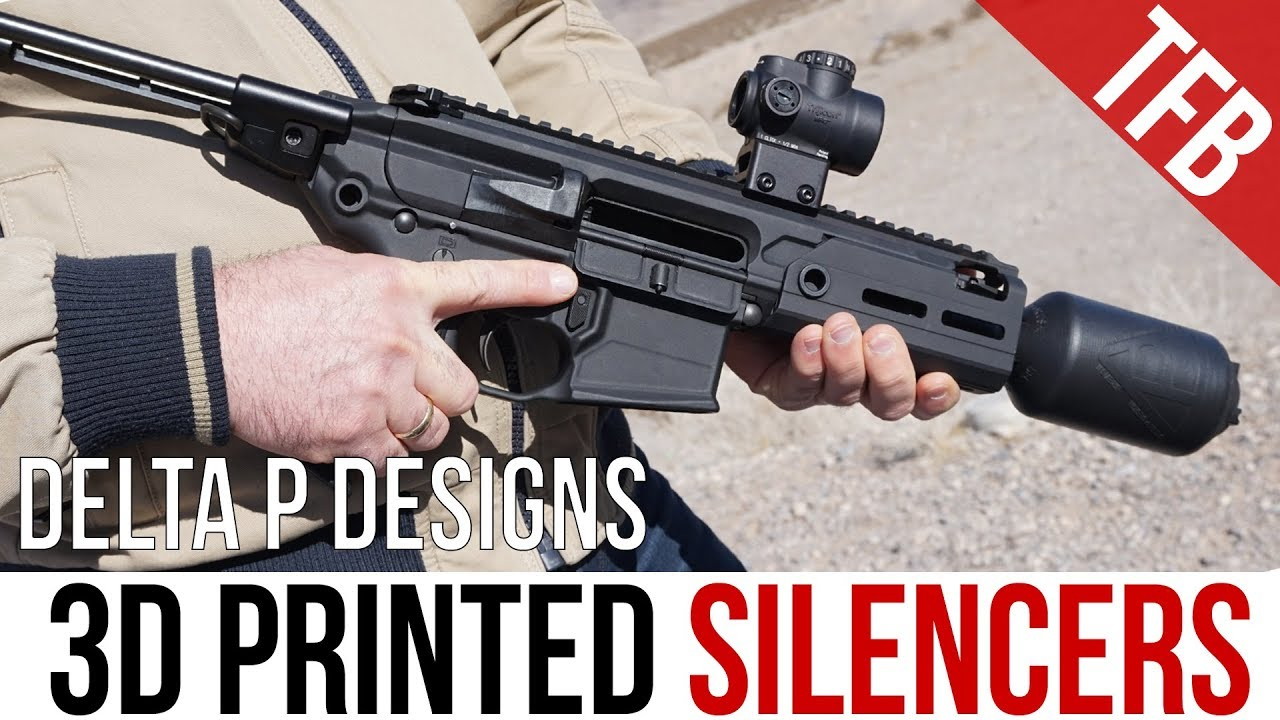 """Declassified"" 3D Printed SMG Silencers: The Delta P Brevis III for the H&K MP7 and SIG Rattler"