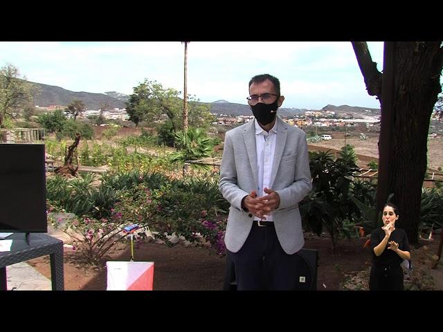 Saludo V Feria de Turismo Activo de Valsequillo de Gran Canaria (José Luis Echevarría)