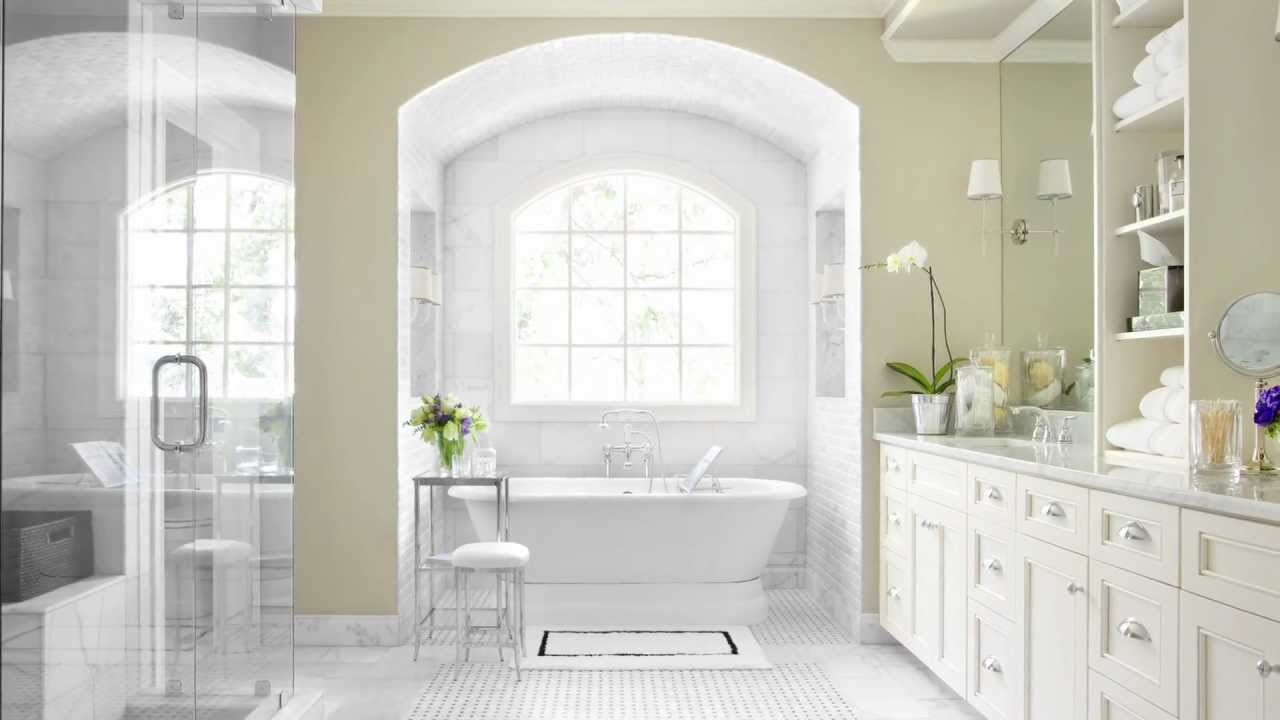 Bathroom Trends - An intimate traditional bathroom with the luxury ...