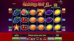 Sizzling Hot 6 extra gold - online slot game 3 in 1