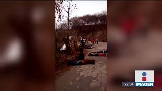 Mueren 25 migrantes en accidente carretero   Noticias con Ciro Gómez Leyva