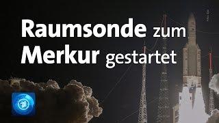 BepiColombo: In sieben Jahren bis zum Merkur