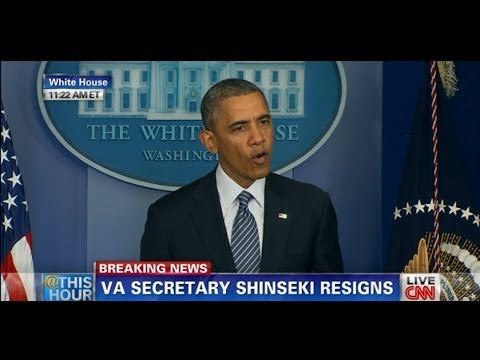 VA Secretary Shinseki Resigns Over Scandal President Obama Appoints Sloan Gibson