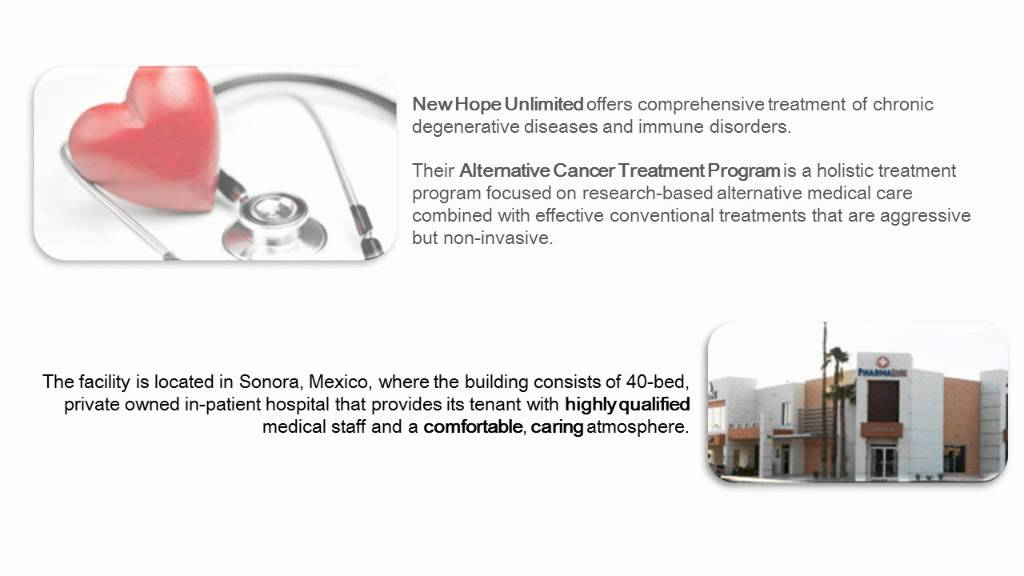 Holistic Cancer Treatment - New Hope Unlimited