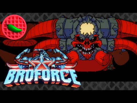 Uncovering Ultra-Satan -- Let's Play Broforce 1.0 (Final Release ...