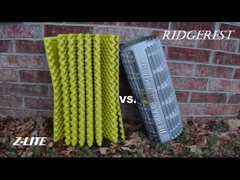 Thermarest Z Lite Vs Ridgerest Sleeping Pad Review
