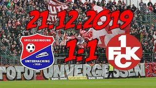 SpVgg Unterhaching 1:1 1. FC Kaiserslautern – 21.12.2019 – Für jeden etwas kleines unter