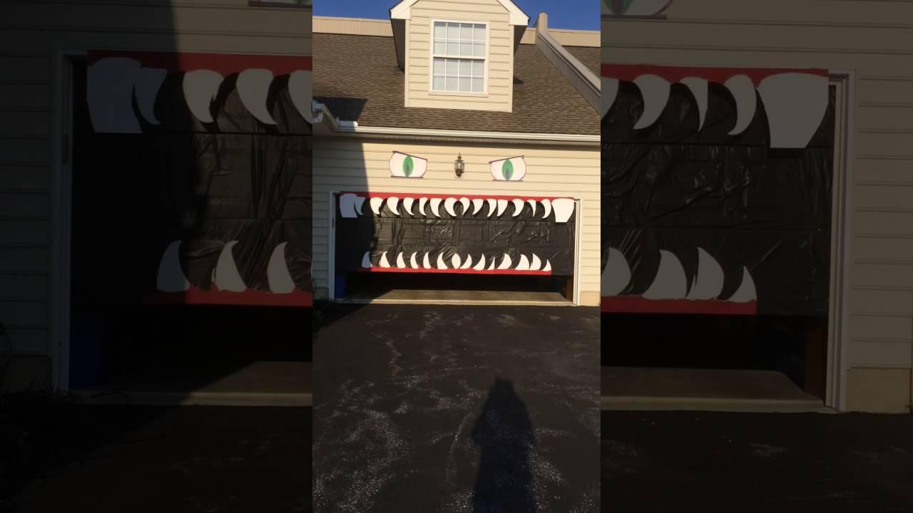 Halloween garage door decorations - Halloween Garage Door Decoration Contact Me At Christine Marshall Comcast Net On How To Make