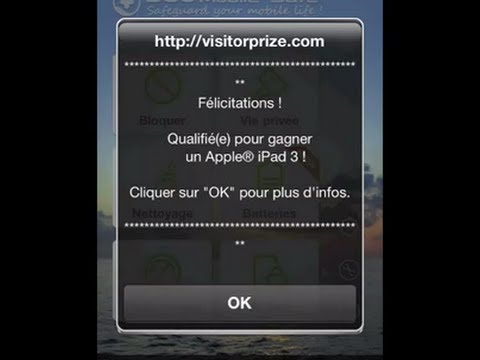 how to remove virus from iphone quot visitorprize quot sur iphone et ipod touch 18997