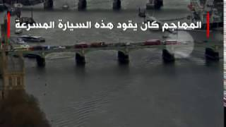 لحظة سقوط امرأة في نهر التيمز أثناء هجوم لندن