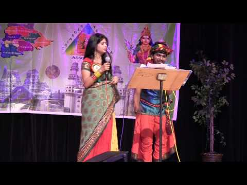 Renuka Gurrala and Ravi Chakati Sinni Sinni Dhanave