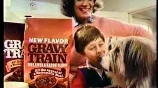 Scott Schwartz 1982 Gravy Train Dog Food Commercial