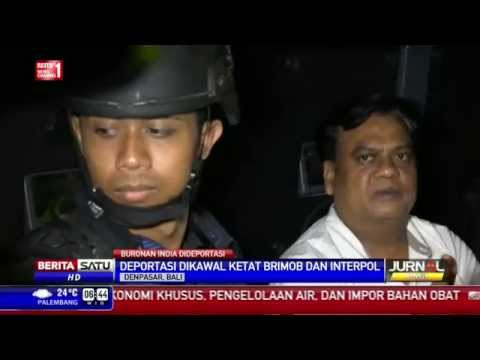Indonesia Deportasi Bos Gangster India