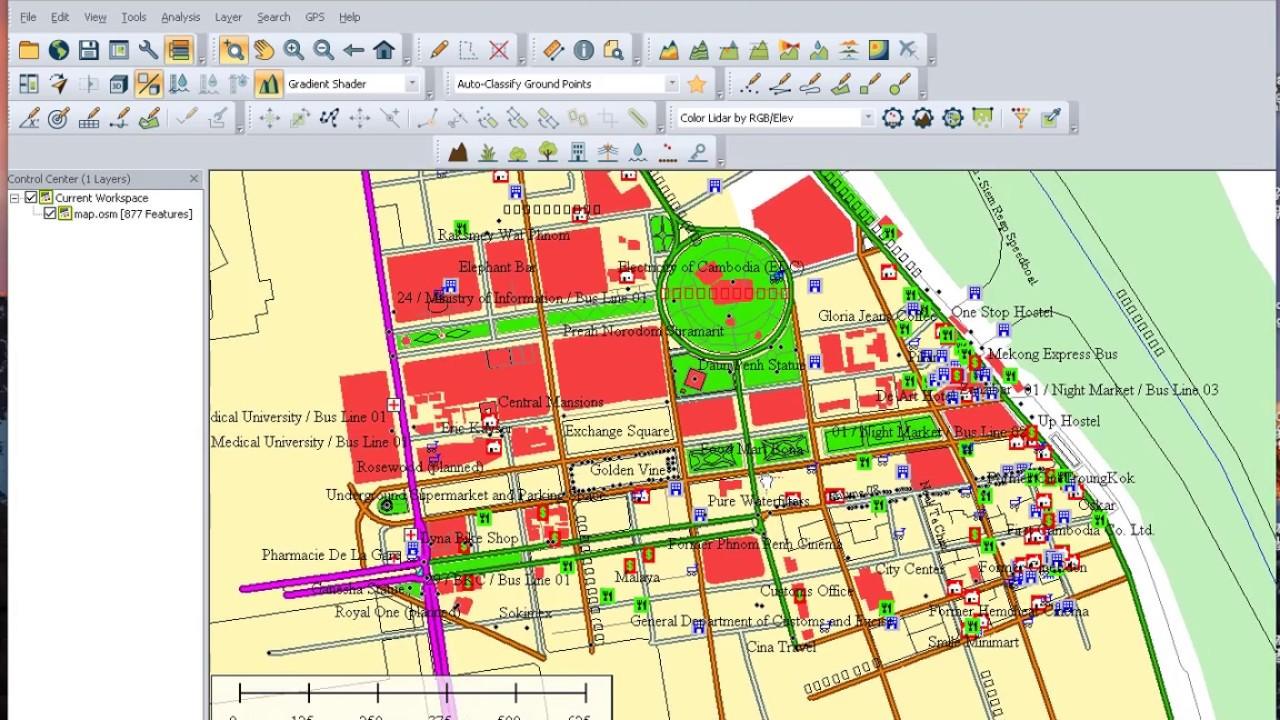 how to Export googlemap sreet roud to Autocad drowing (osm to dwg) part 2