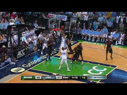 UNC vs Miami (March 11, 2011): Comeback from 19 down