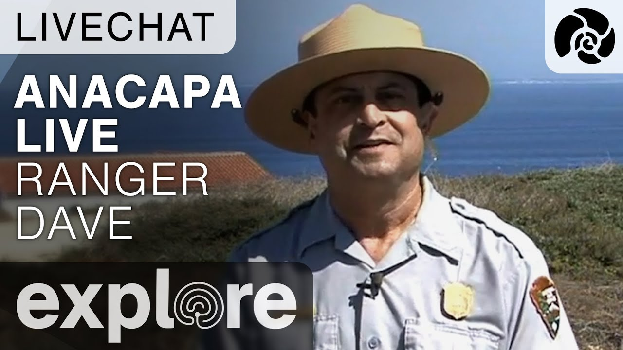 Ranger Dave Interactive Morning Chat - Anacapa Island - Live Chat - 10.04.17