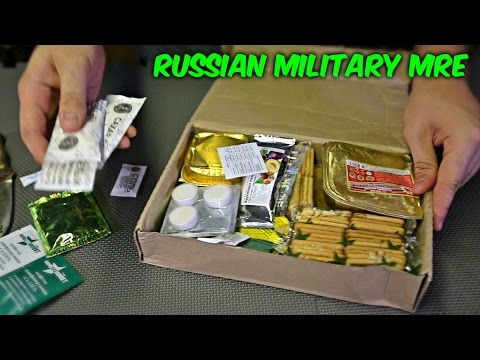 Thumbnail: Testing Russian Military MRE (Meal Ready to Eat)