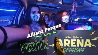#VLOG l Show do Pixote drive in - Arena Sessions - Allianz Parque