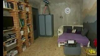 Уютная гостинная в стиле лофт - Удачный проект - Интер