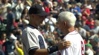 Derek Jeter honored at Fenway Park