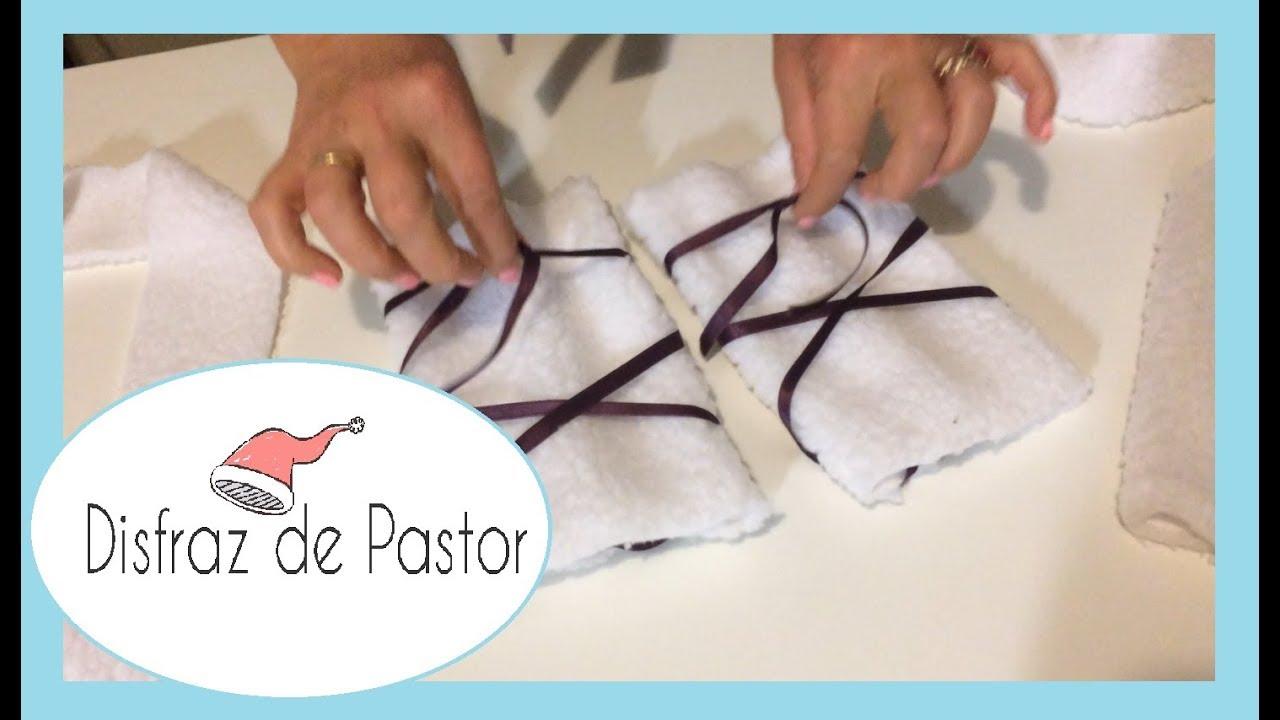 Disfraz Para Navidad Disfraz De Pastor Muy Fácil Y Económico Youtube