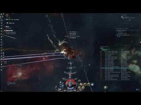 Guristas Extravaganza in a Leshak Triglavian Battleship