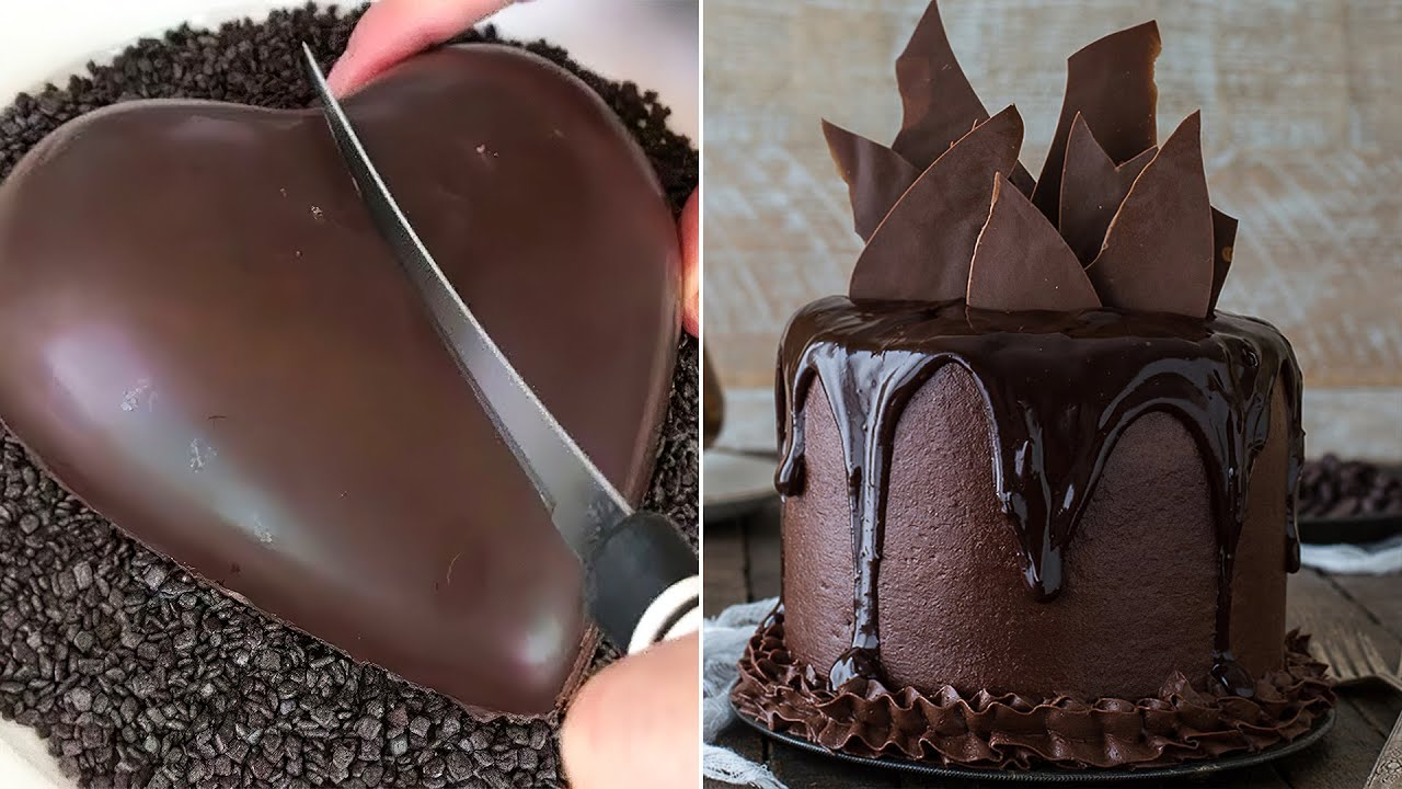 My Favorite Chocolate Cake for Lovers | World's Best Chocolate Cakes Compilation