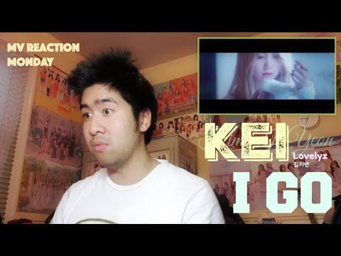 Kei (of Lovelyz) (김지연) - I Go (MV Reaction Monday) [YOU GO KEI!]