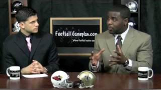 Football Gameplan's NFC Divisional Playoffs (Arizona Cardinals at New Orleans Saints)