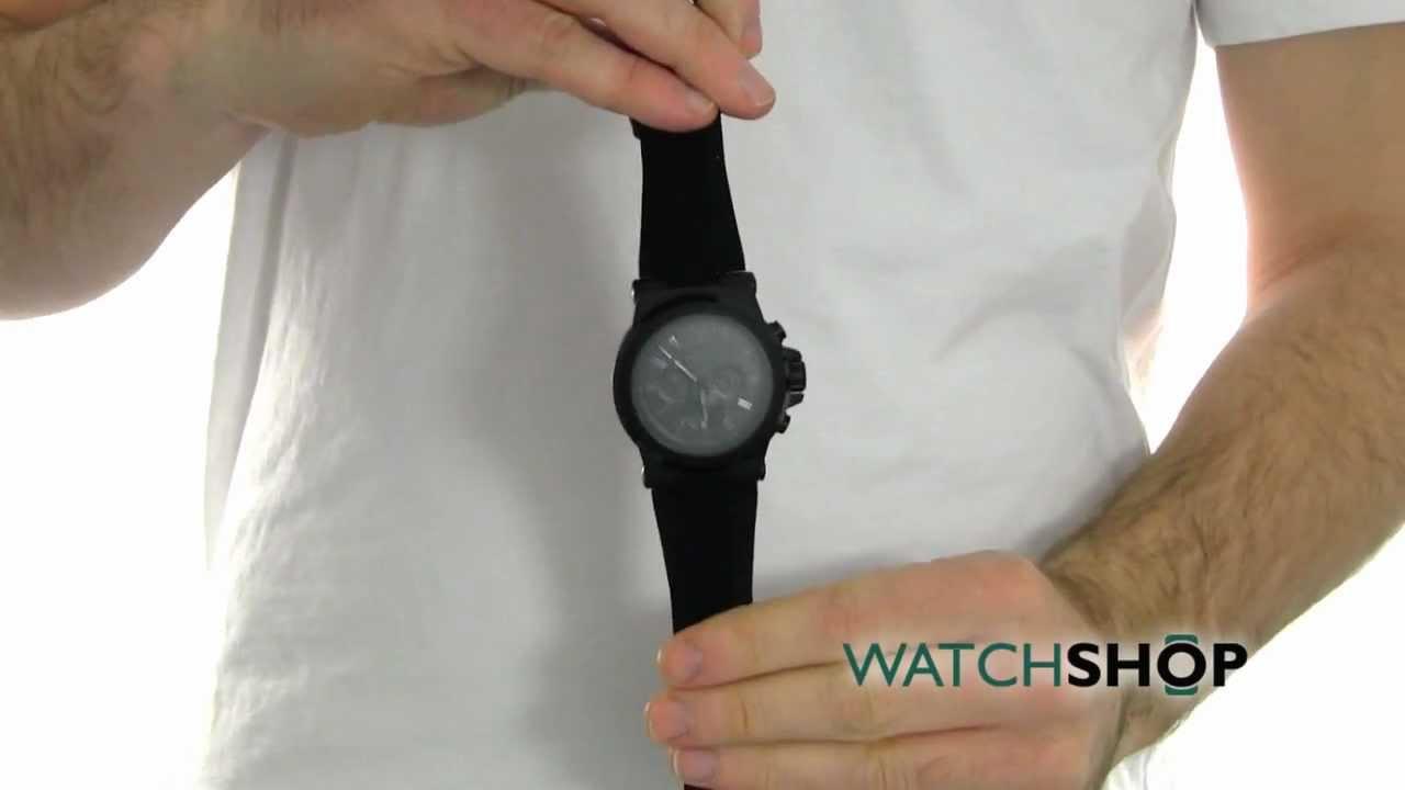 5c87f4fd18f3 Men s Michael Kors Chronograph Watch (MK8152) - YouTube